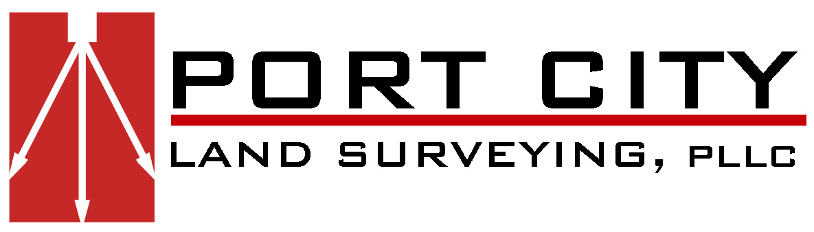 Port City Land Surveying logo